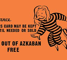 Get Out of Azkaban Free Card by huckblade
