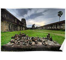 Late Afternoon, Angkor Wat, Cambodia Poster