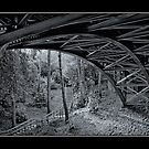 Iron Bridge of Middle Chine # 2. by Alexis Pond