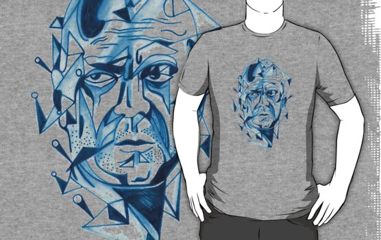 Bruce Willis is my homeboy ( light colors) by Jp87cents