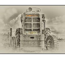 By-Gone Tractor. by Alexis Pond