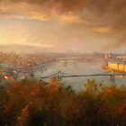 View of Budapest by Remus Brailoiu