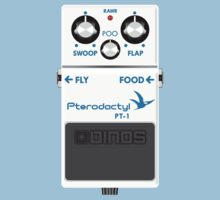 Pterodactyl Delay Pedal by jezkemp