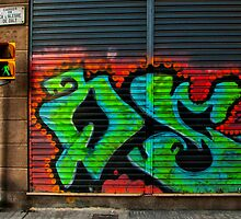 Graffiti : Barcelona by BrettNDodds