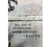 """""""Joy"""" Photographic Print"""