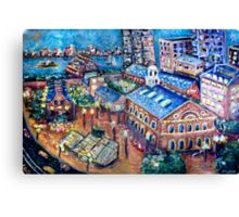 Faneuil Hall, Boston Massachusetts  Canvas Print