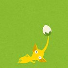 Yellow Pikmin by tanzelt