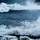 Wind, Waves &amp; Ice by Laurie Minor