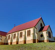 St Andrews Catholic Church Nimmitabel  NSW Australia  1850 by Kym Bradley
