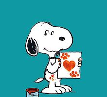 Snoopy Love for You by gleviosa