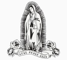 Lady of Guadalupe - Love Never Die by lampadablu