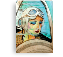 The Pilot Of Your Dreams  Canvas Print