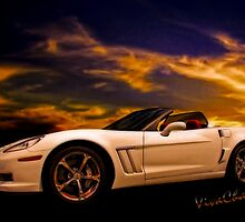 Corvette Sunset by ChasSinklier