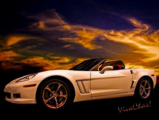 Corvette Sunset by ChasSinklier