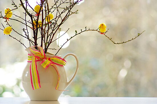 easter tree... by Gregoria  Gregoriou Crowe