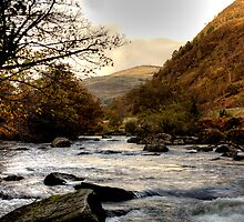 Afon Glaslyn (River Glaslyn) by J-images