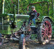Old Tractor - HDR by Stefanie Köppler