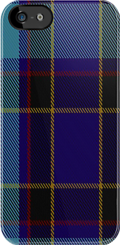 01316 US Air Force Reserve Pipe Band Tartan Fabric Print Iphone Case by Detnecs2013