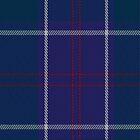 01318 US Navy Edzell Tartan Fabric Print Iphone Case by Detnecs2013
