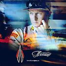 Iceman Stare - iPhone Cover - Kimi Raikkonen by evenstarsaima