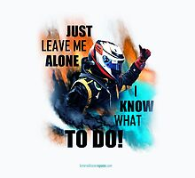 Leave Me Alone I Know What To Do! - iPad Case - Kimi Raikkonen by evenstarsaima