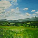 Brattleboro, VT, Mountain View  by Caroline  Hajjar Duggan