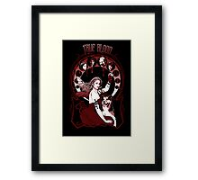 "Chasing the ""V"" Fairy- True Blood Parody Framed Print"