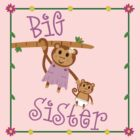 Big Sister Monkey by skyekathryn