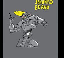 Johnny 5 Bravo by jeffaz81