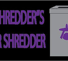 Shredder's Shredders by jeffaz81