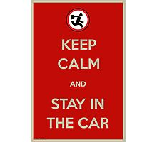 Stay In The Car Photographic Print