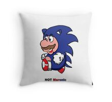 Not maronic  Throw Pillow