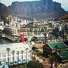 Table Mountain and lego man by Kuilz