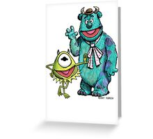 Muppets Inc. Greeting Card