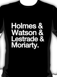 The Men Of BBC Sherlock T-Shirt
