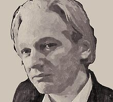 Julian Assange for Senator by Albert