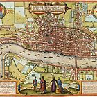 Londom Map 1572 by VintageLevel