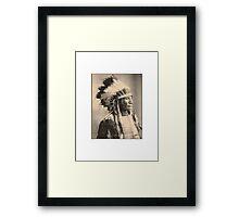 Broken Arm Ogalalla Framed Print