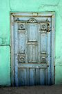 Old Door in Konya-Karatay by Jens Helmstedt