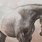 """Well Chosen"" - Parade stallion by Pauline Sharp"