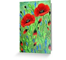Poppies for you Greeting Card