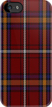01381 Castle Stewart #2 District Tartan Fabric Print Iphone Case by Detnecs2013