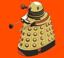 Solitary Dalek in Yellow by piggus
