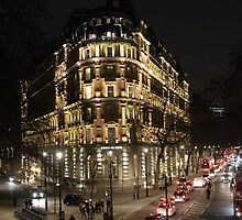 London Embankment at Night by karina5