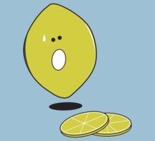 Lemon cartoon Tshirt by Sam Mobbs