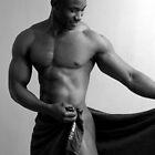 Teaser - nude black man posing... by Chris Fick