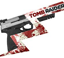 Tomb Raider 2013 'Pistol' by Geckoface