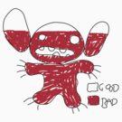 Stitch: Good vs Bad by moysche