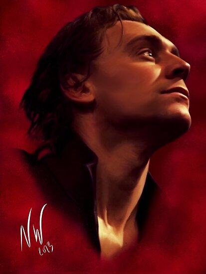Tom Hiddleston as Prince Hal by Wispwool