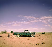 Lonely Pickup by strayfoto